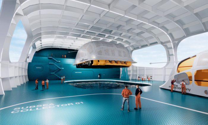 BIG navrhli továrnu aspeciální stroje pro ekologické vysávání nerostů ze dna moře