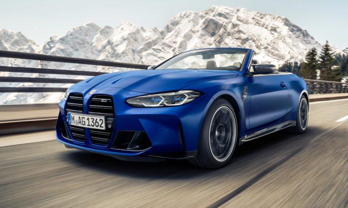 BMW M4 Competition Cabrio dostalo novou klenutou střechu sčistším designem