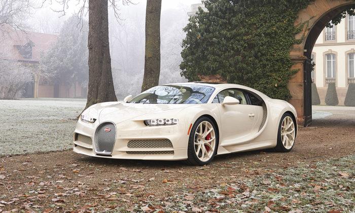 Bugatti sespojilo sHermès anazakázku vyrobili jedinečný Chiron vbarvě Craie