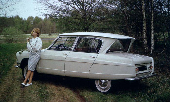Citroën slaví 60 let oduvedení extravagantního sedanu Ami 6