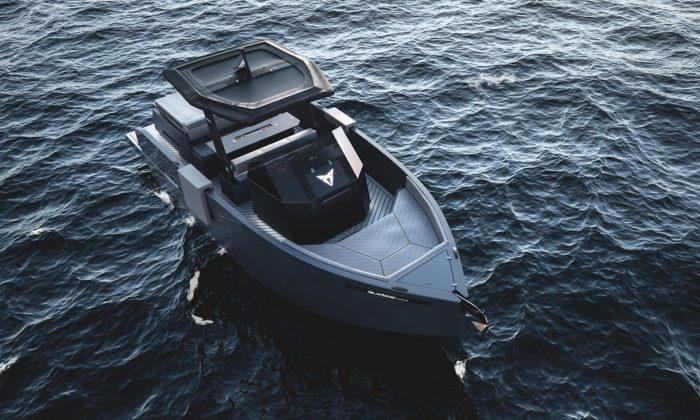 Cupra navrhla pro De Antonio Yachts motorovou jachtu D28 Formentor