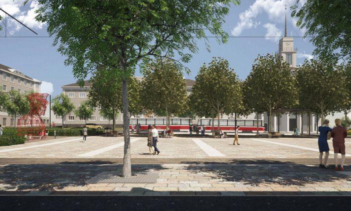 Brno ukázalo finální návrh nazazelenání adostavbu náměstí Míru
