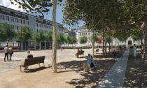 Dostavba a úprava náměstí Míru v Brně