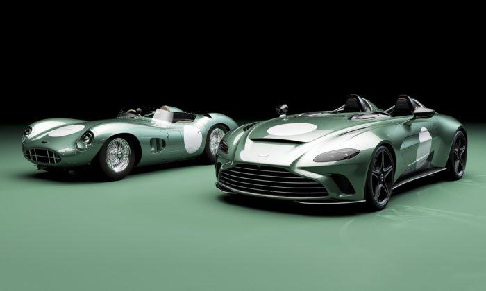 Aston Martin vzdává čest legendárnímu DBR1 limitovanou edicí sporťáku V12 Speedster