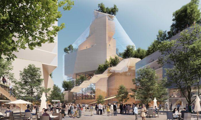 V Eindhovenu přestaví obchodní centrum nakulturní centrum pod skleněnou horou
