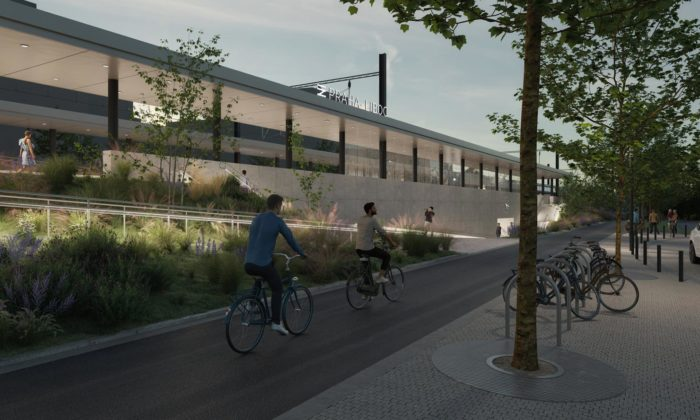 Praha představila podobu železničních stanic Liboc aVeleslavín
