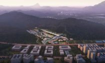 Shenzhen Innovation and Creative Design Institute od ateliéru Dominique Perrault Architecture