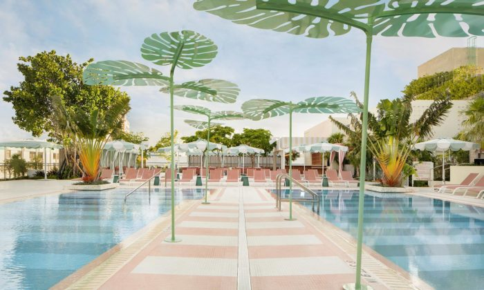 Pharrell Williams otevřel stylový Goodtime Hotel naMiami Beach