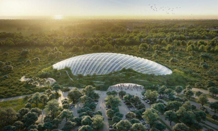 Na severu Francie vyroste největší tropický skleník nasvětě Tropicalia