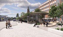 Cestovní centrum Västerås od BIG