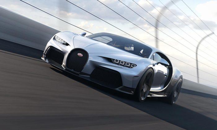 Bugatti Chiron Super Sport jeještě výkonnější verze supraveným designem