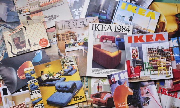 Ikea sepo70 letech rozloučila stištěnými katalogy apřipravila výstavu retro interiérů