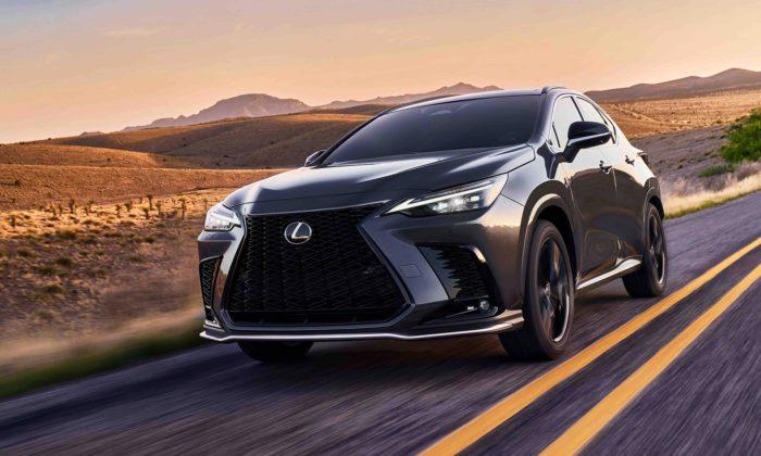 Lexus ukazuje budoucí směr designu svých vozů modernizovaným modelem NX
