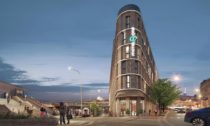 Motel One vPraze uMasarykova nádraží odSchindler Seko Architects