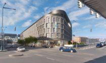 Motel One v Praze u Masarykova nádraží od Schindler Seko Architects