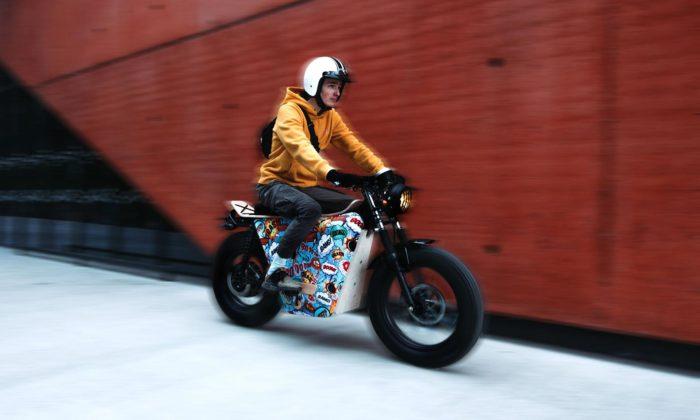 Studenti designu vPlzni navrhli funkční elektrickou motorku La Boheme