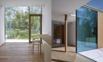 Dům u lesa a rybníka od JRA
