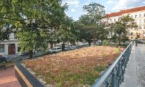 Kostnické náměstí v Praze po revitalizaci