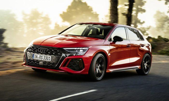 Audi RS 3 dostalo ještě dynamičtější apůsobivější design