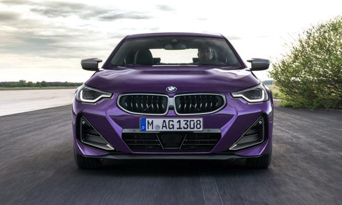 BMW řady 2 Coupé dostalo modernizovaný design anovou dvoudvéřovou verzi