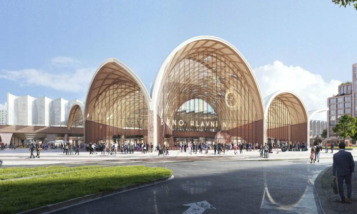 Brno postaví nové hlavní nádraží podle návrhu nizozemských Benthem Crouwel