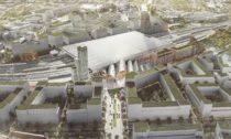 Nové hlavní vlakové nádraží v Brně od Benthem Crouwel Architects
