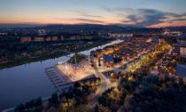 Budapest South Gate Masterplan od ateliéru Snøhetta
