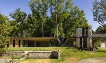 Fold House v Ontariu od ateliéru Partisans
