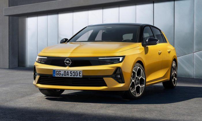 Opel zabodoval apředstavil novou generaci vozu Astra vatraktivním designu