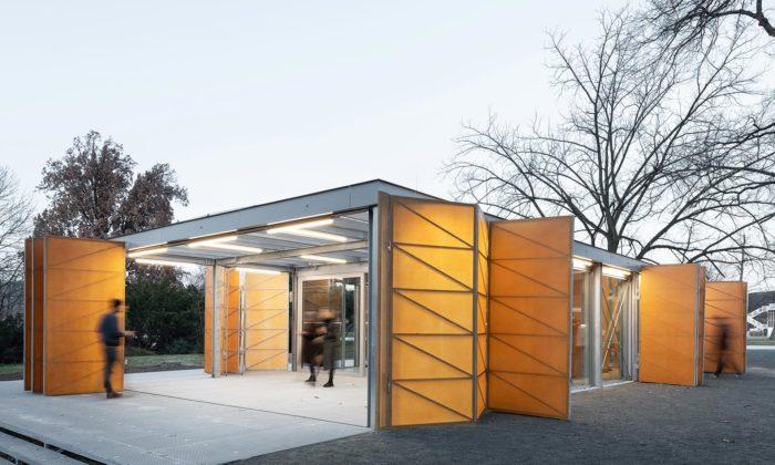 Na Výstavišti vHolešovicích vznikl pavilon sobčerstvením pro návštěvníky parku