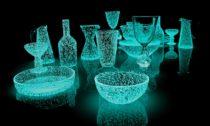 Svítící objekty a instalace od Rui Sasaki