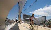 Most Park Union Bridge v Colorado Spings od ateliéru Diller Scofidio + Renfro