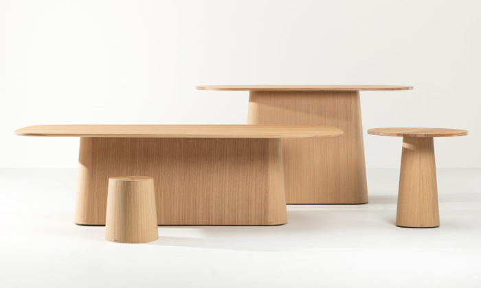 Ton přichází svelkou kolekcí stolů P.O.V. navrženou studiem KaschKasch