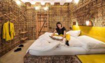 Hotelové pokoje ze slámy veVídni odHeri & Salli