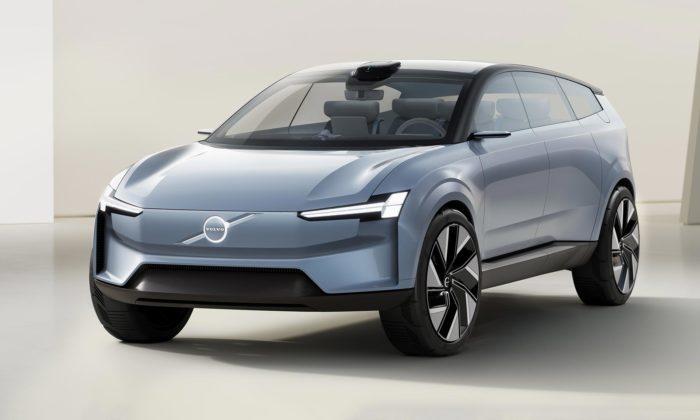Volvo Concept Recharge ukazuje budoucnost designu elektrických vozů Volvo