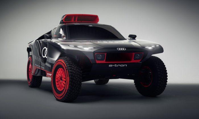 Audi postaví naRallye Dakar elektrický RS Q e-tron vyrábějící energii benzínem
