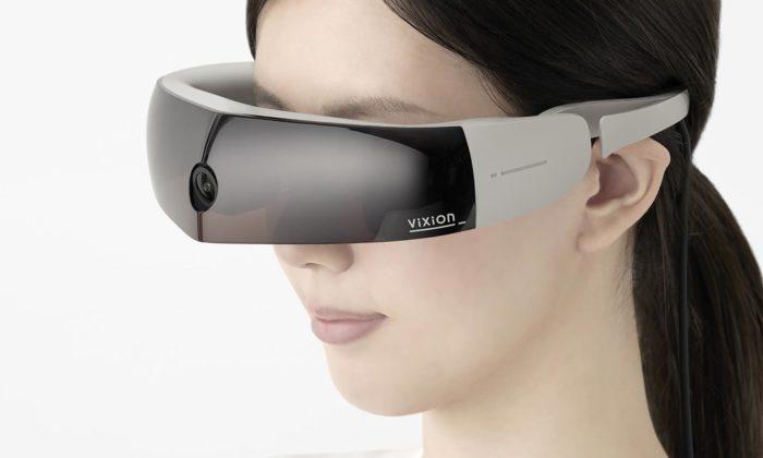 Nendo navrhlo brýle skamerou ViXion pro osoby seslabým zrakem