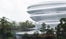 Vědecké atechnologické muzeum Hainan včínském Haikou odateliéru MAD