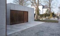 Nové zázemí hřbitova Litomyšl od ateliéru Kuba & Pilař