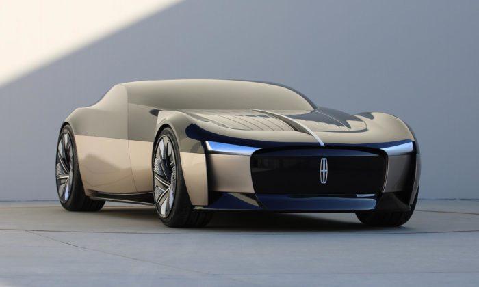 Lincoln Anniversary Concept jefuturistický vůz zbudoucnosti roku 2040