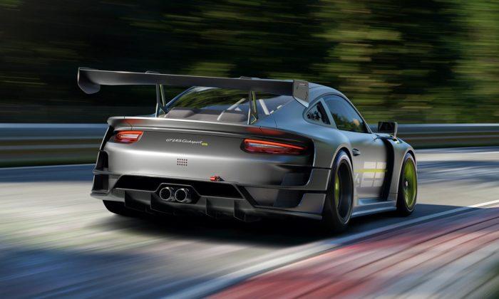 Porsche 911 GT2 RS Clubsport 25 jespeciální výroční model pro jízdu naokruzích