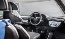 Porsche Renndiens a jeho interiér