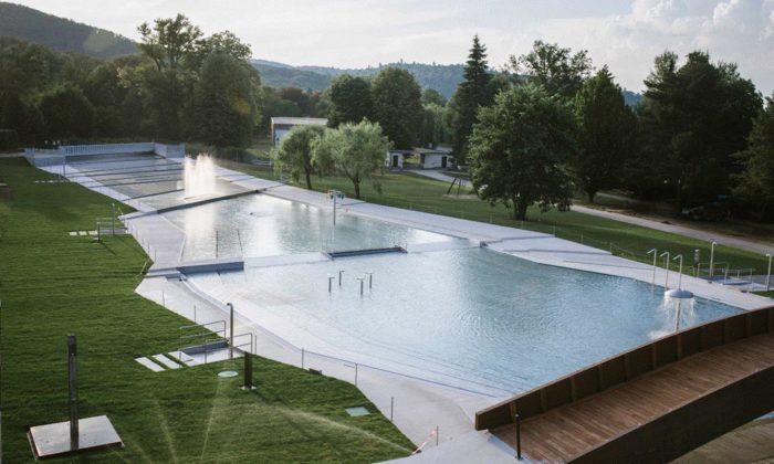 Brno semůže pochlubit zdařilou rekonstrukcí bazénů koupaliště Riviéra