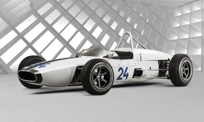 Škoda Motorsport si kvýročí připomíná monopost F3 typ 992 zroku 1964