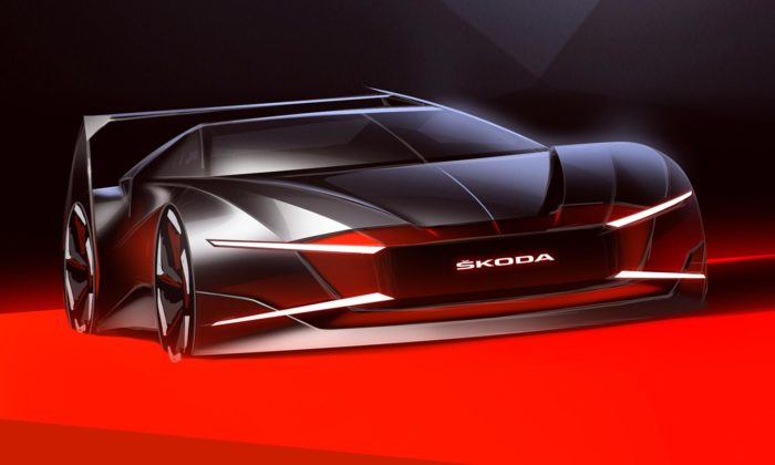 Designér ze Škoda Auto navrhl supersport Ferat inspirovaný 40 let starým prototypem