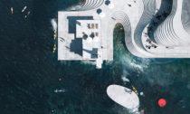 Norské přístavní lázně Knubben od ateliéru Snøhetta