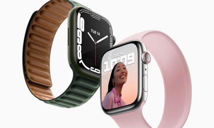 Apple dal hodinkám Watch Series 7 větší displej aodolnější sklo