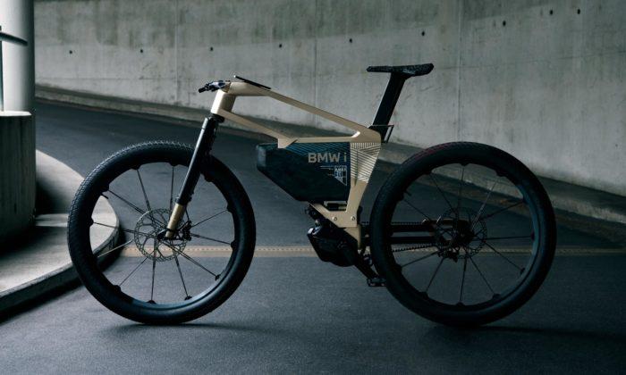 BMW iVision Amby jepovedený koncept rychlého elektrokola nejen doměsta
