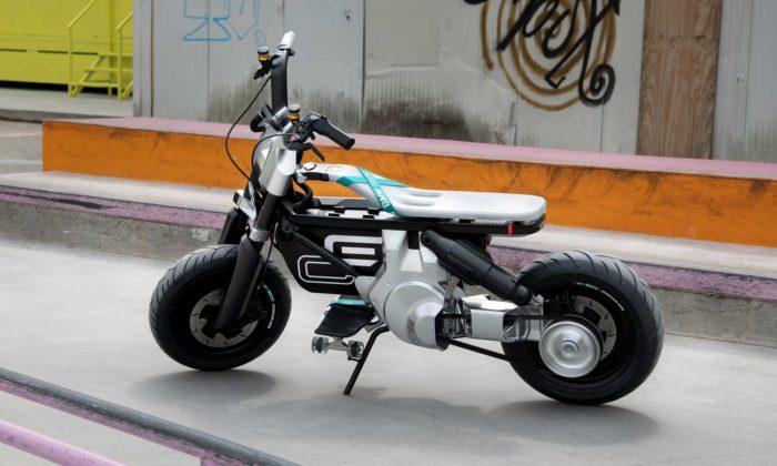 BMW Motorrad Concept CE 02 jepovedená vize elektrické motorky pro mladé