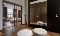 Interiér bytu v kubistickém domě v Praze